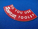[未使用品] Snap-on Do you use Snap-on Tools? ステッカー 極小